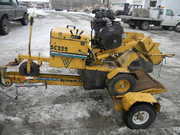 2000 VERMEER SC252 STUMP GRINDER,  ONLY 782 HOURS ON 2006 MOTOR