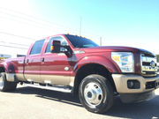 2012 Ford F-350 DRW 4X4 LARIAT KING RANCH 6.7 LITER TURBO DIESEL!